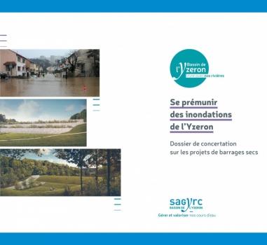Se prémunir des inondations de l'Yzeron : lancement de la concertation sur les projets de barrages